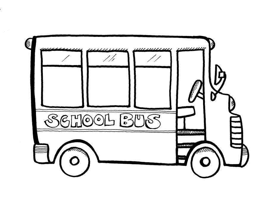 120 dessins de coloriage Autobus à imprimer