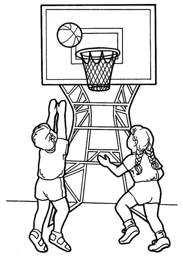 dessin à colorier basket tony parker