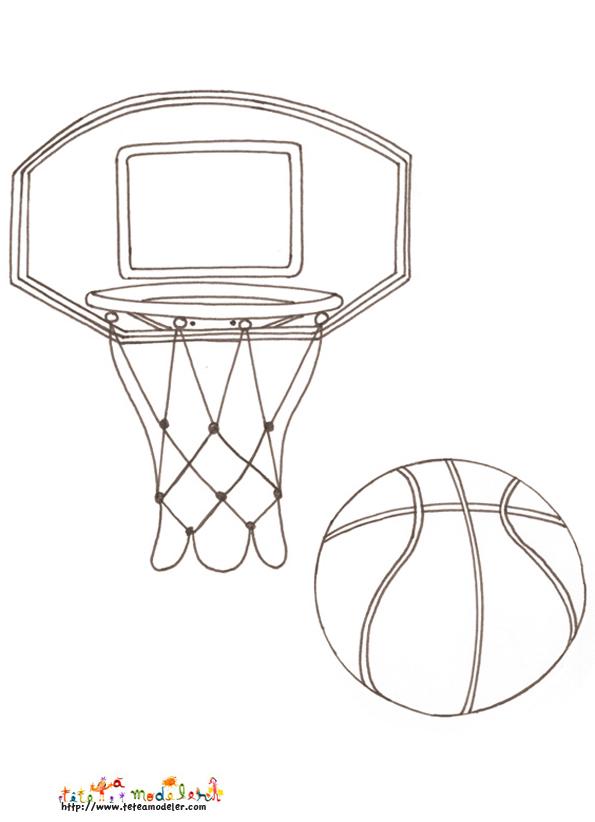 coloriage à dessiner basket tony parker