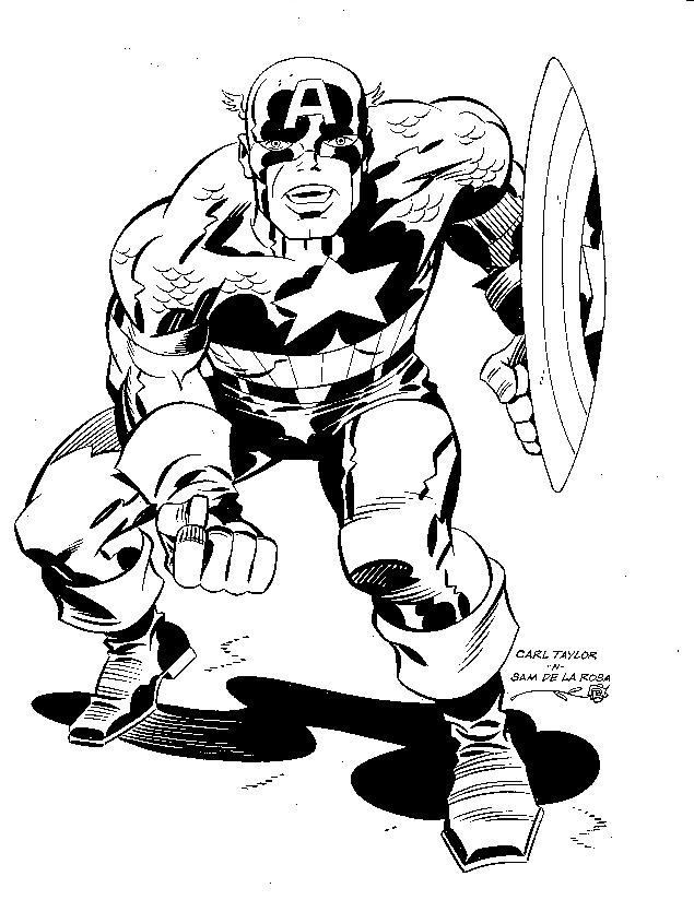 Jack Kirby Coloring Pages Coloring Pages