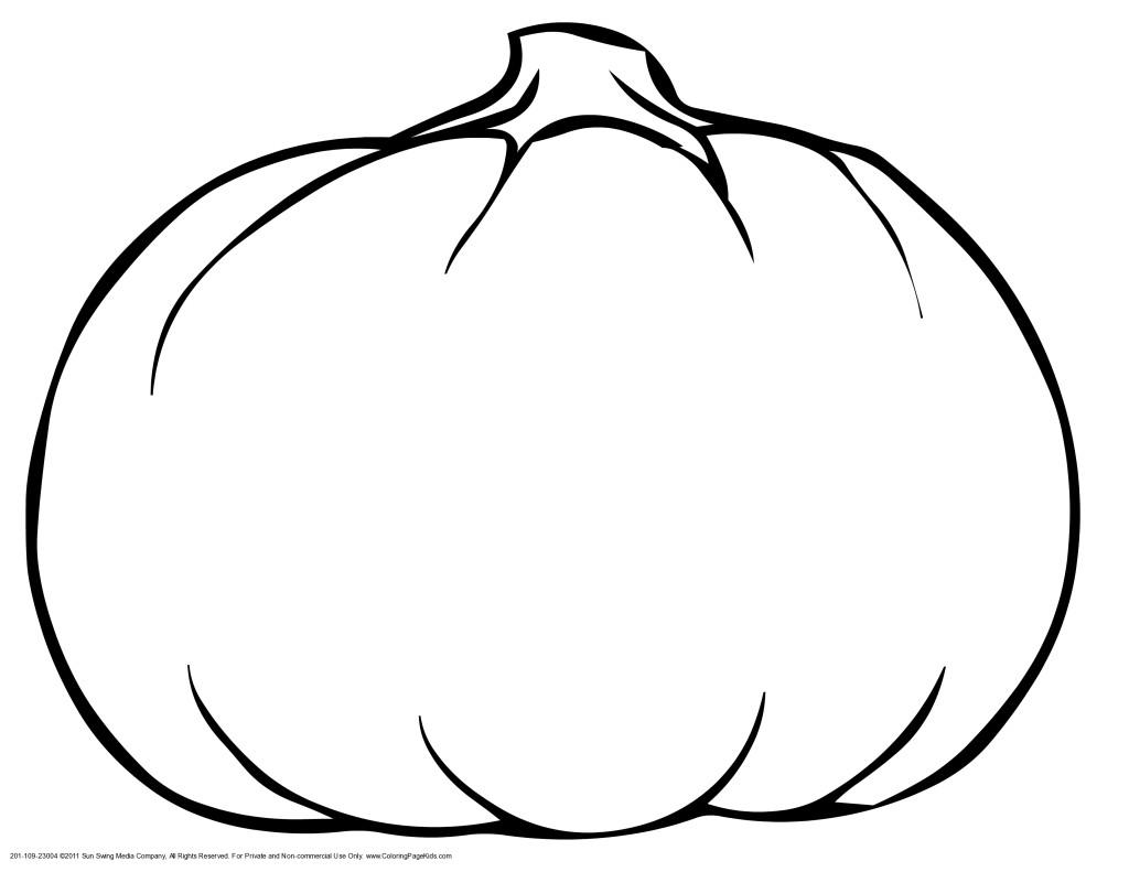 17 dessins de coloriage Citrouille à imprimer