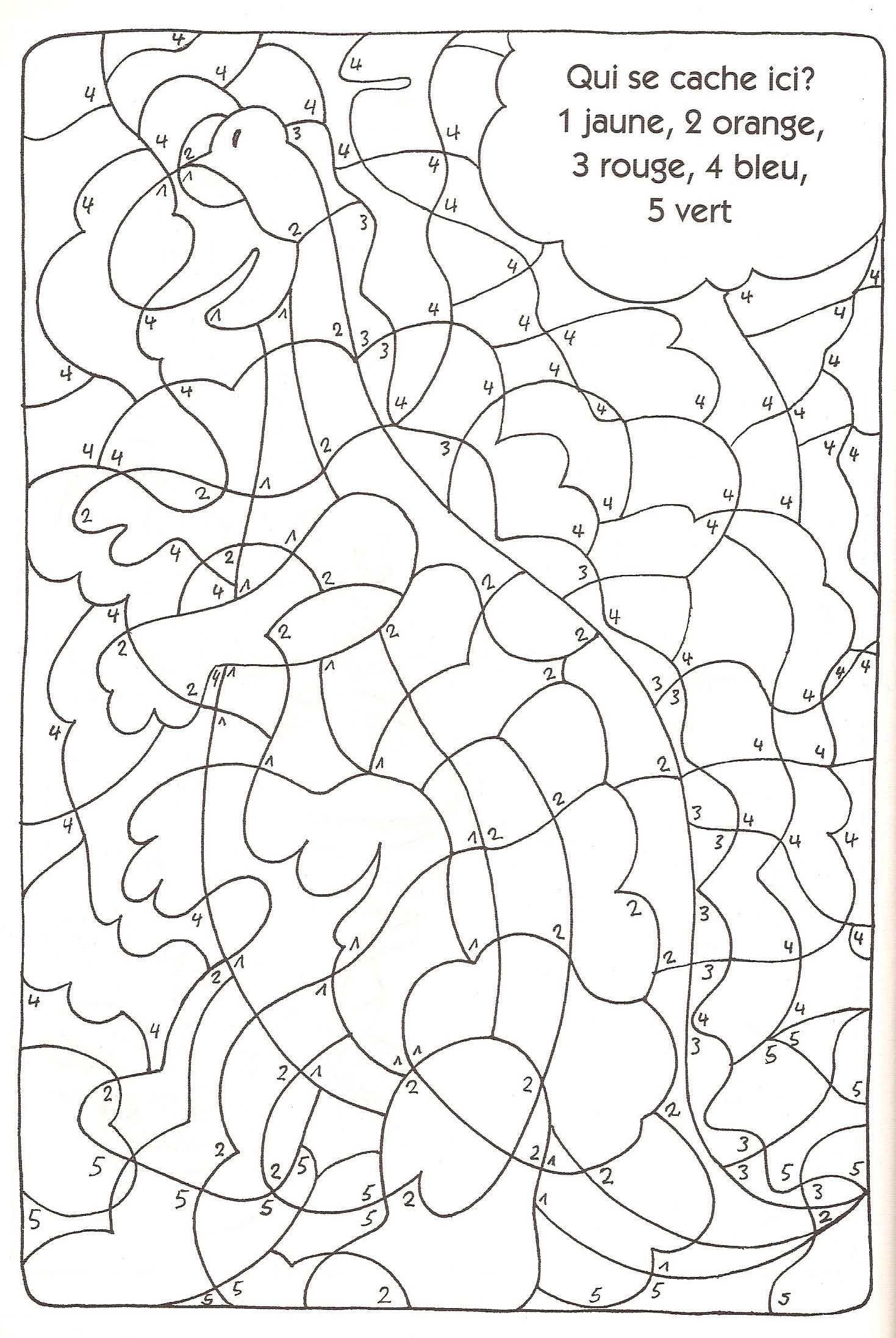 31 Dessins De Coloriage Code A Imprimer