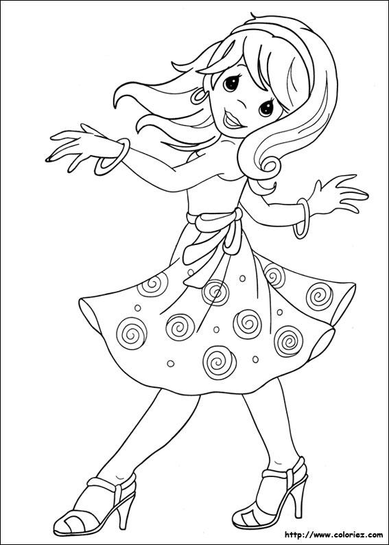 36 dessins de coloriage Danse à imprimer