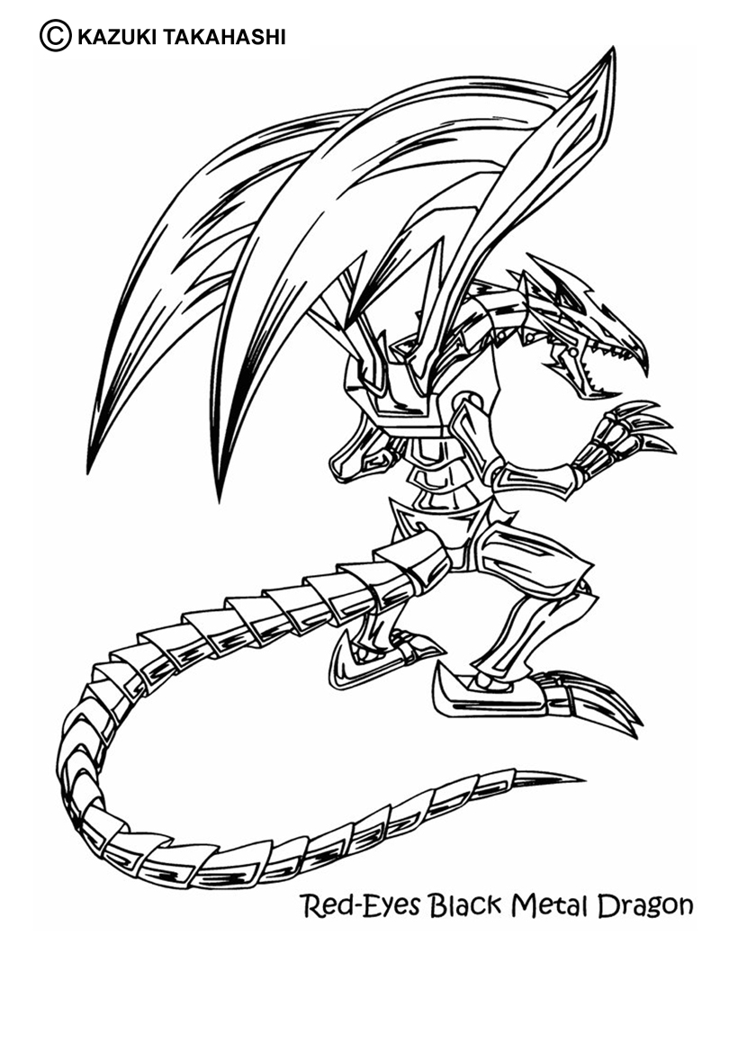 dessin à colorier dragon beurk