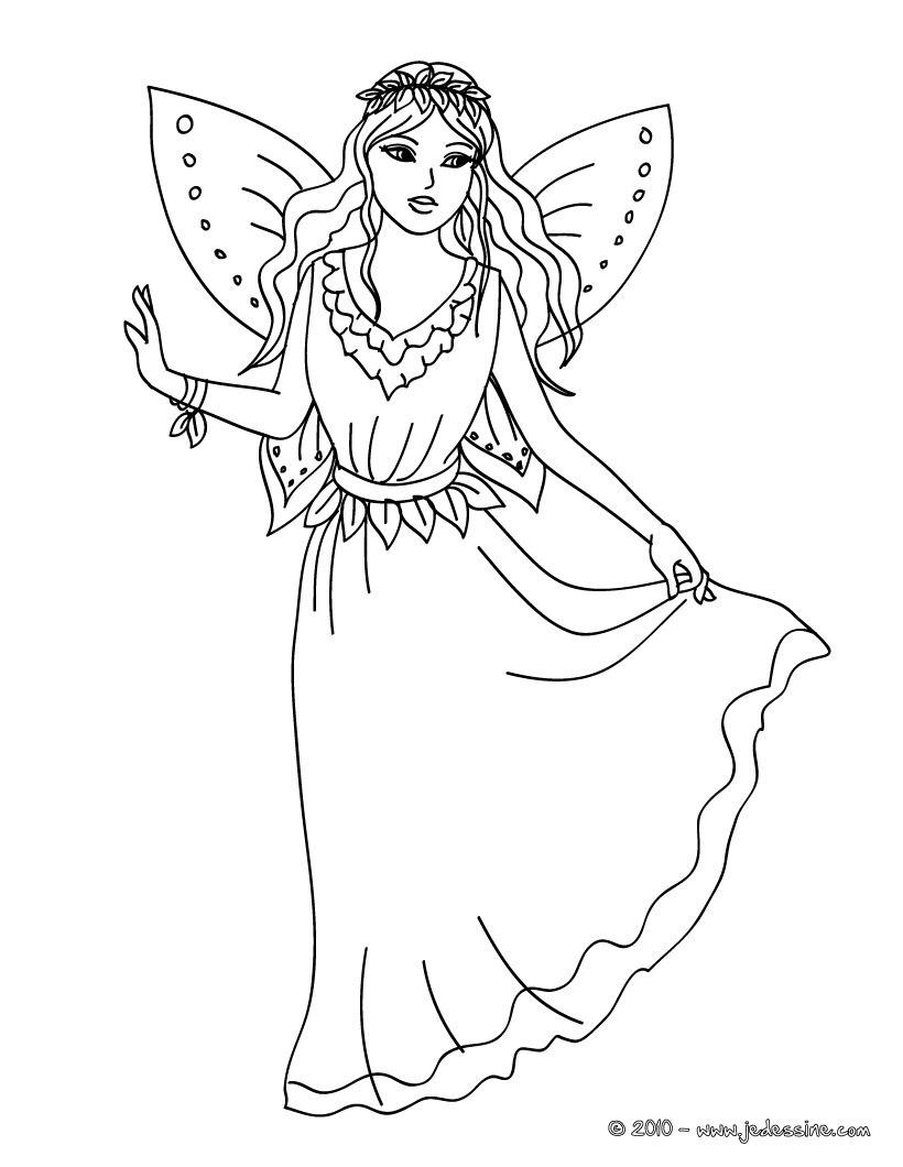 20 dessins de coloriage Fée Clochette En Ligne Gratuit à