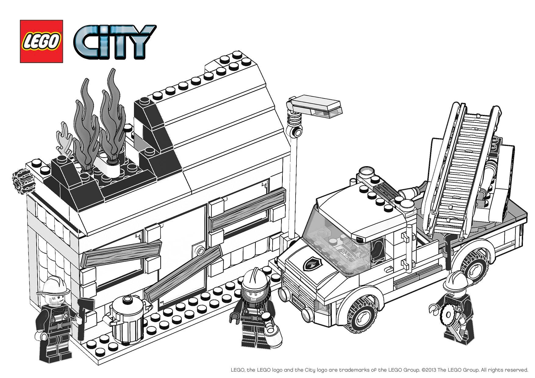 Coloriage De Lego City Police Coloriage De Police Dessin De