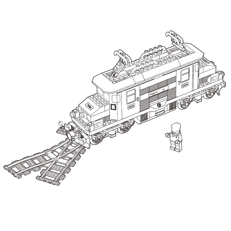 Transformers Train Set Lionel