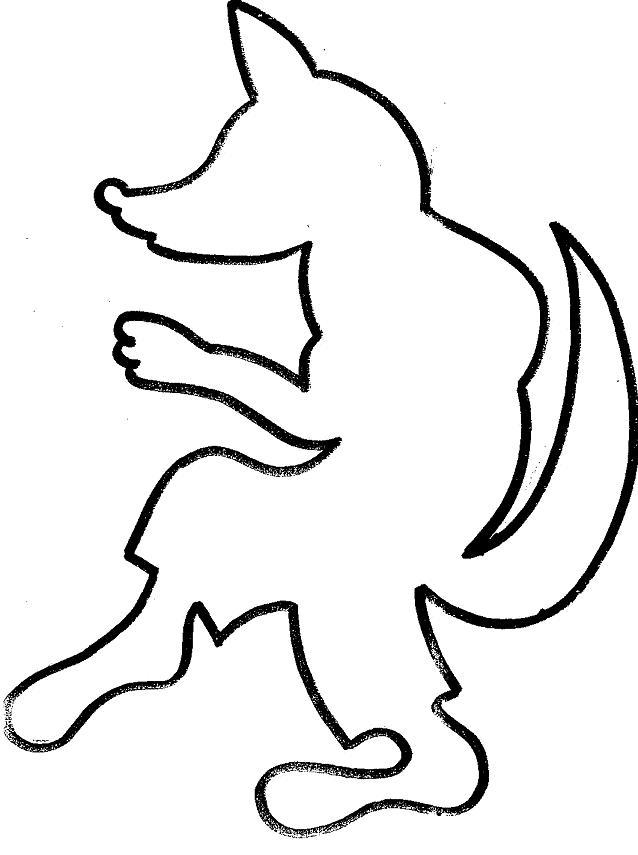 19 dessins de coloriage Loup Maternelle à imprimer