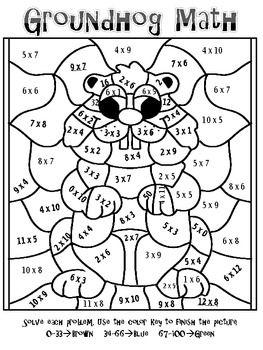 22 dessins de coloriage Magique Multiplication à imprimer