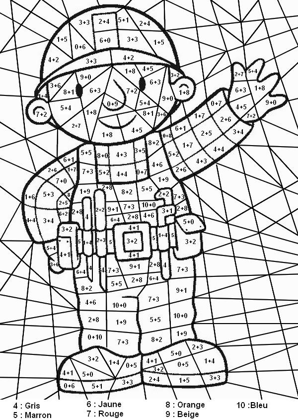 dessin magique multiplication 2