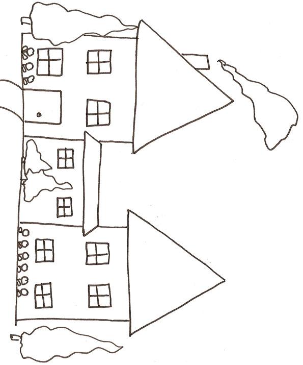 36 dessins de coloriage Maison  imprimer