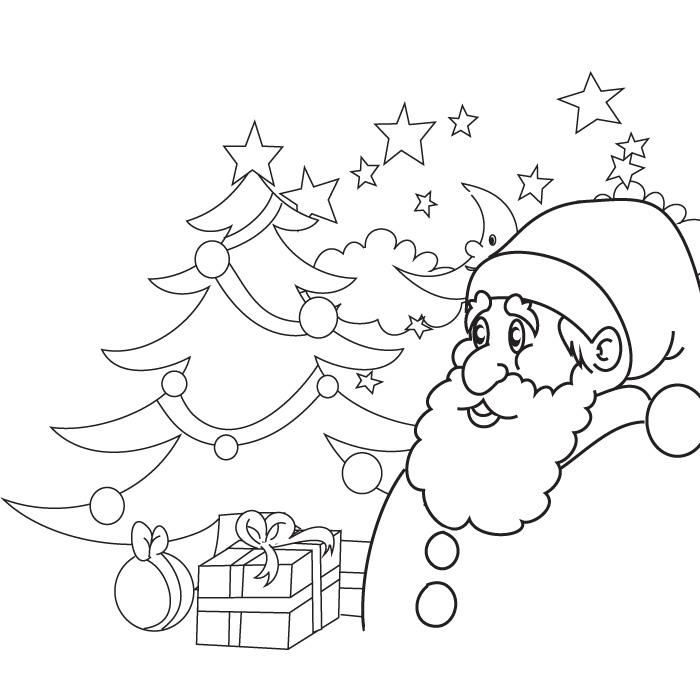 118 dessins de coloriage Noël à imprimer