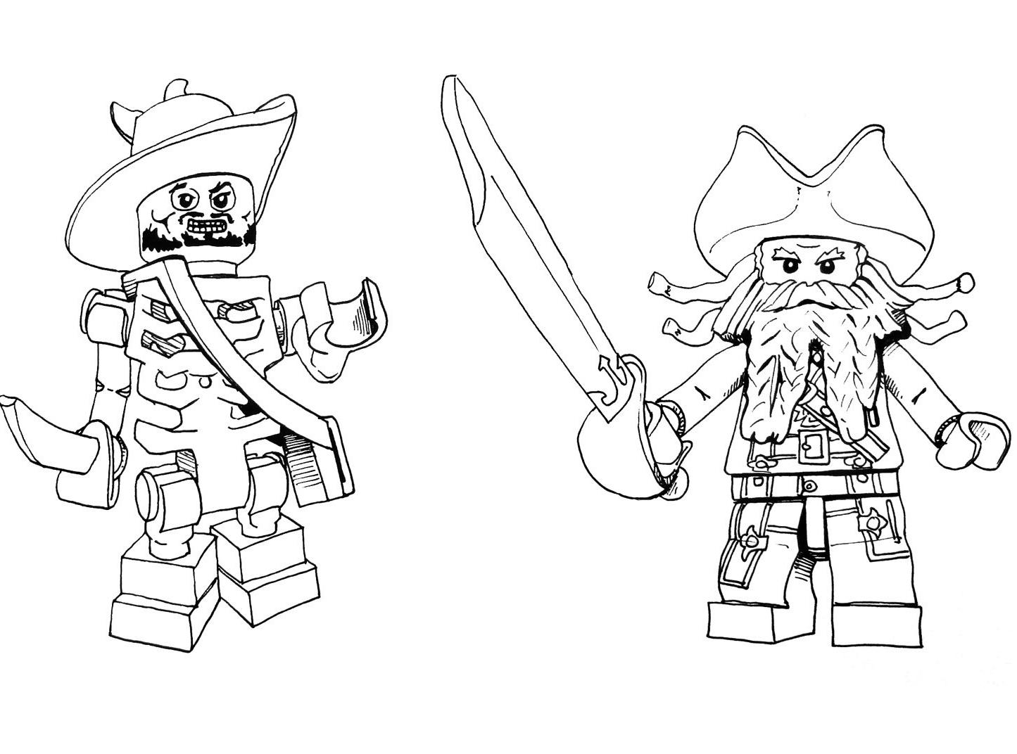 127 Dessins De Coloriage Pirates Des Caraibes A Imprimer