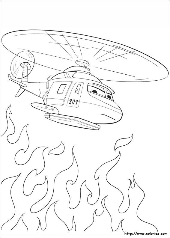 124 dessins de coloriage Planes à imprimer