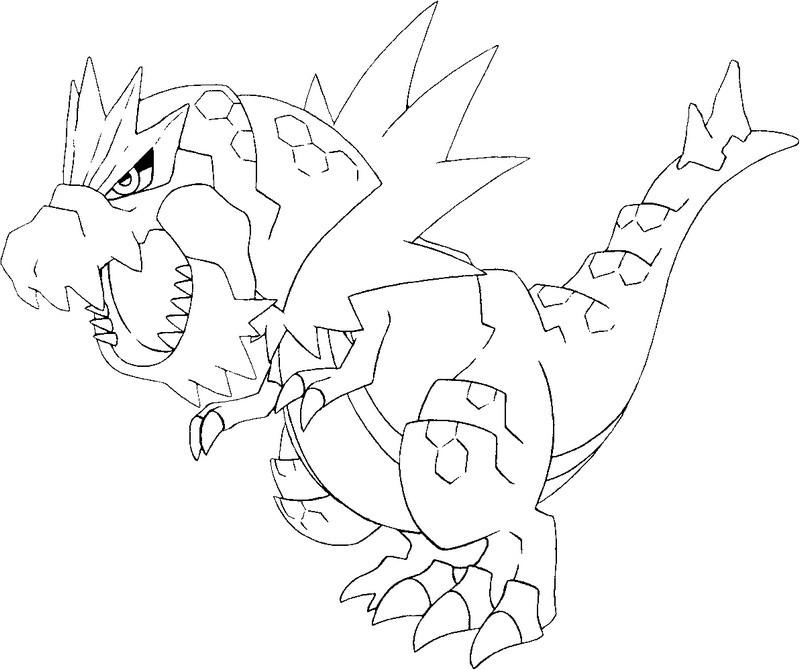 19 dessins de coloriage Pokemon Xy à imprimer