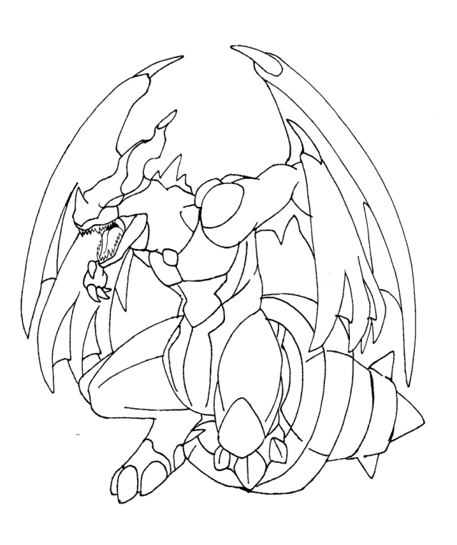 Zekrom ex coloring pages