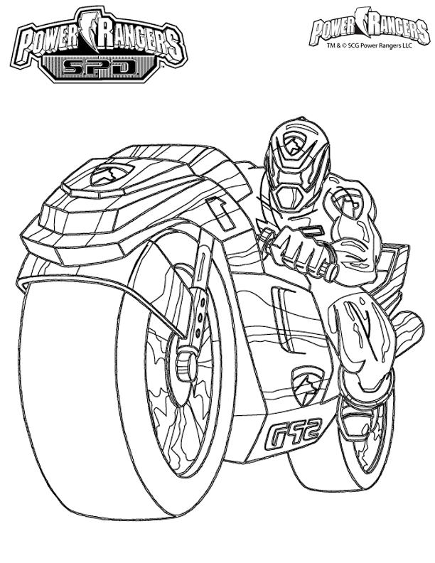 14 dessins de coloriage Power Rangers à Imprimer Gratuit à