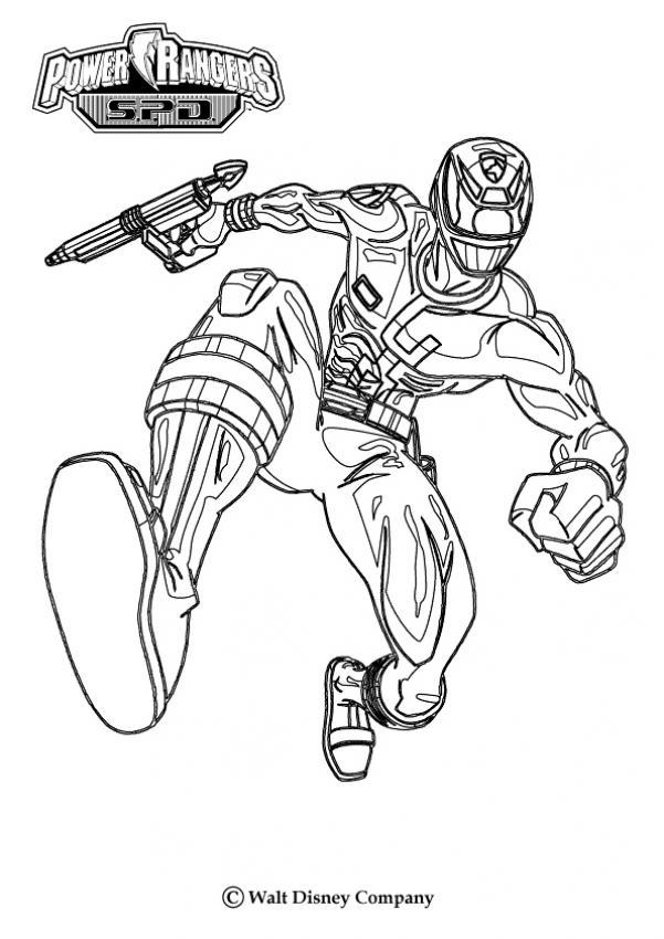 36 dessins de coloriage Power Rangers à imprimer