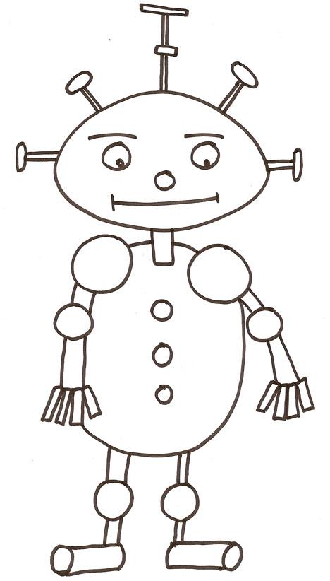 Coloriage A Dessiner Robot En Ligne Voir Le Dessin Dessin Gratuit Robocar Poli