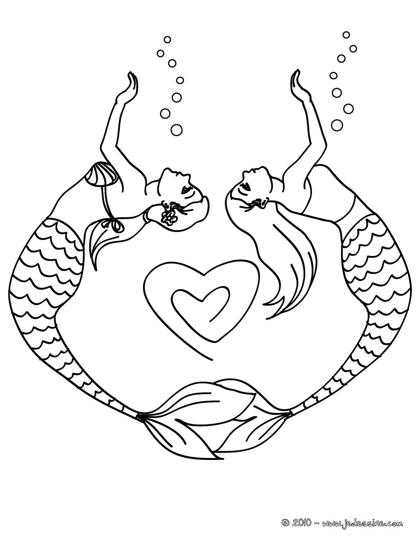 s dessin coloriage sirene ho l with coloriage sirene ariel - Coloriage Sirene