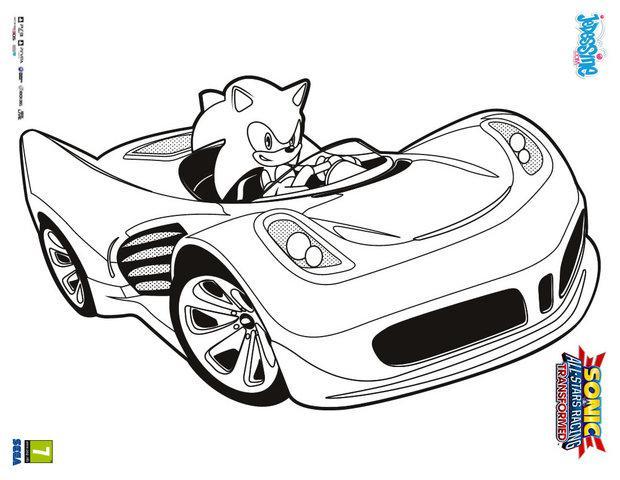 13 dessins de coloriage Sonic Boom En Ligne à imprimer