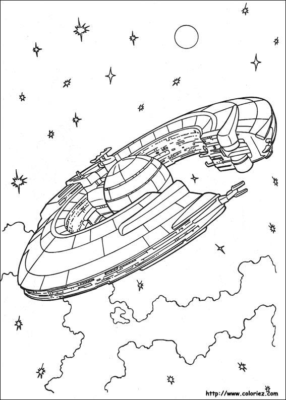 218 dessins de coloriage Star Wars à imprimer