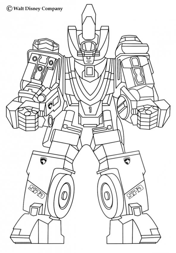 s dessin coloriage a dessiner robot de guerre l