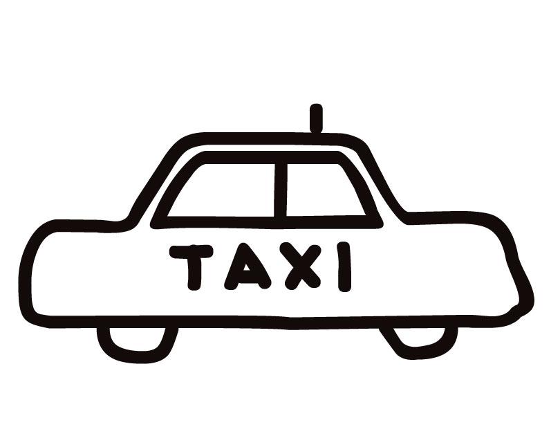 30 dessins de coloriage Taxi à imprimer