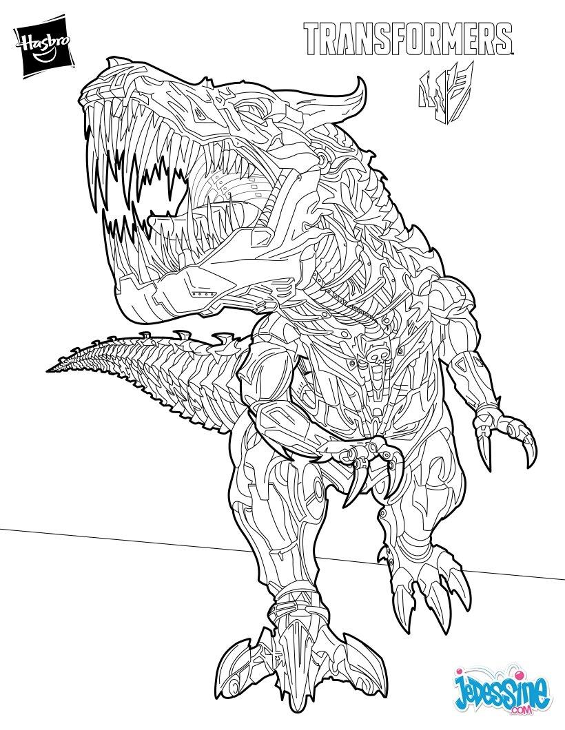 6 dessins de coloriage Transformers à Imprimer à imprimer