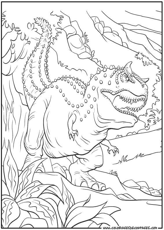 14 dessins de coloriage Transformers Dinosaure à imprimer