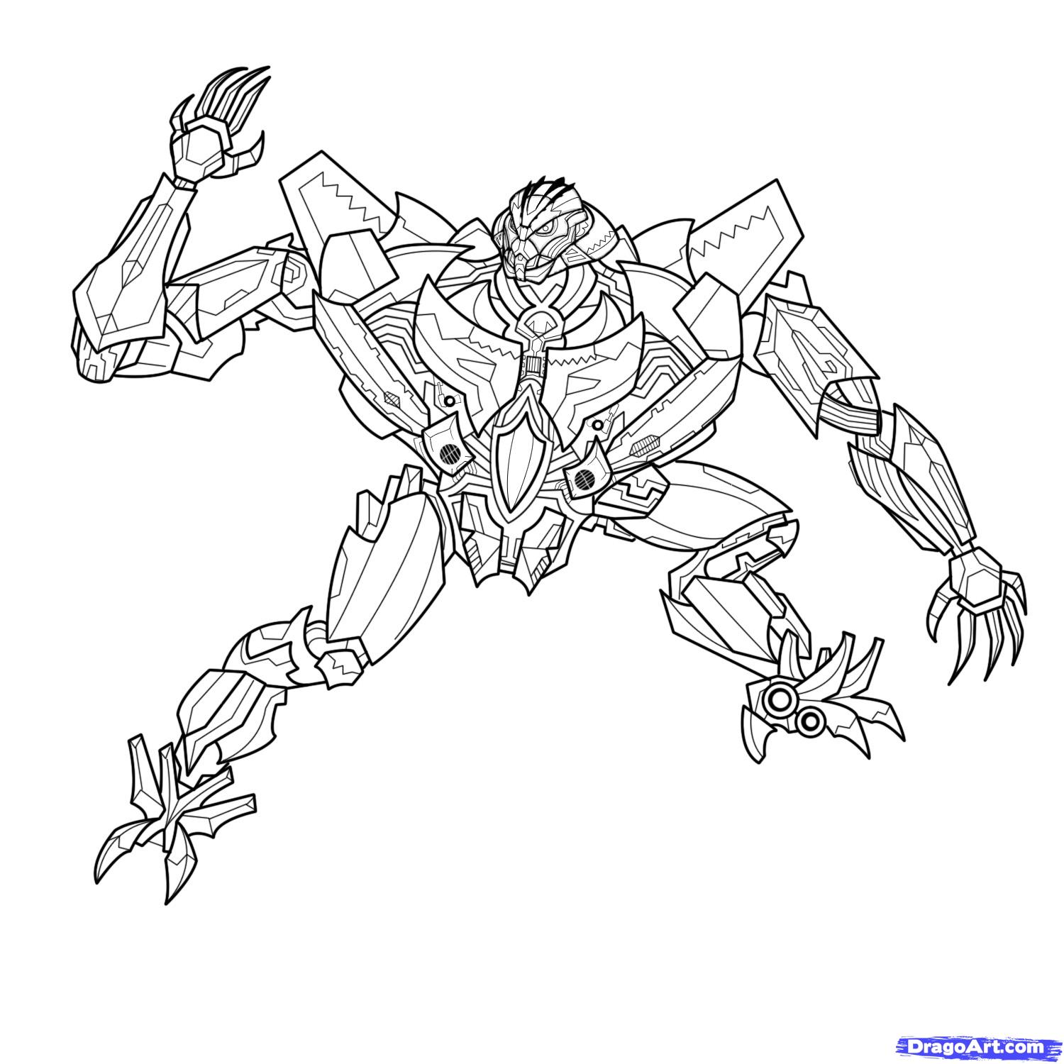 Coloriage Transformers Starscream Auto Electrical Wiring