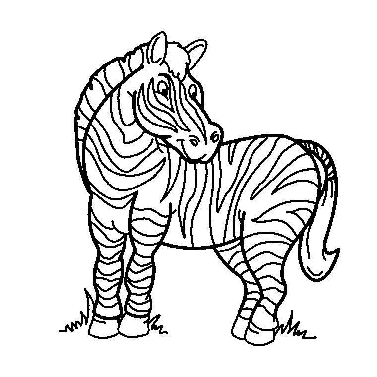dessin à colorier hugo l'escargot zebre