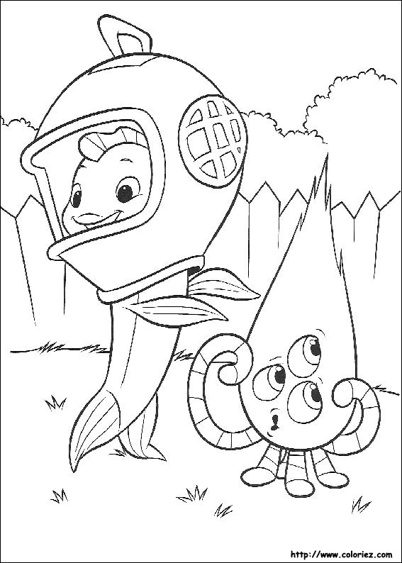 63 dessins de coloriage Zootopie à imprimer