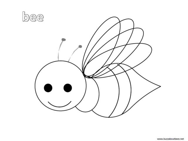 Bee Coloring Pages Free To Download And Print