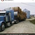 A load of hay from northeast Kansas headed to Ashland, KS