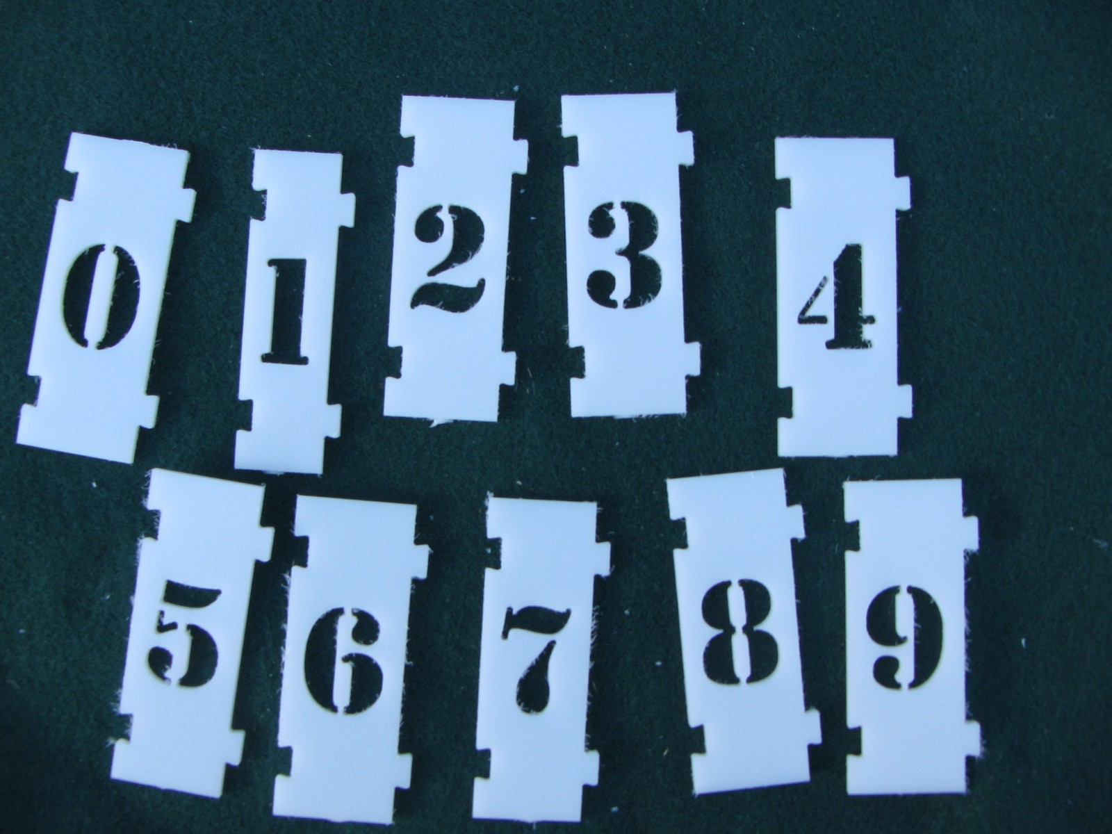 letter stencils for signs