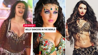 most beautiful belly dancers