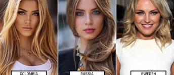 countries with beautiful women