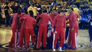 The LA Clippers in the playoffs are a rare site.