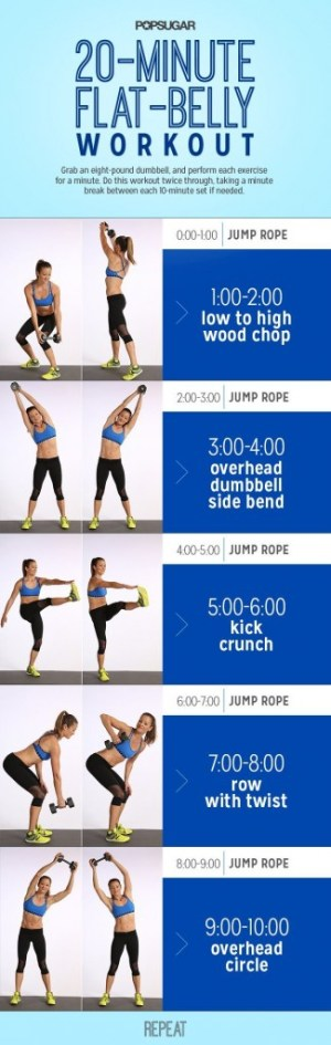 FlatBellyWorkout