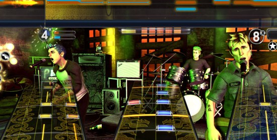 Rock Band greenday_pic