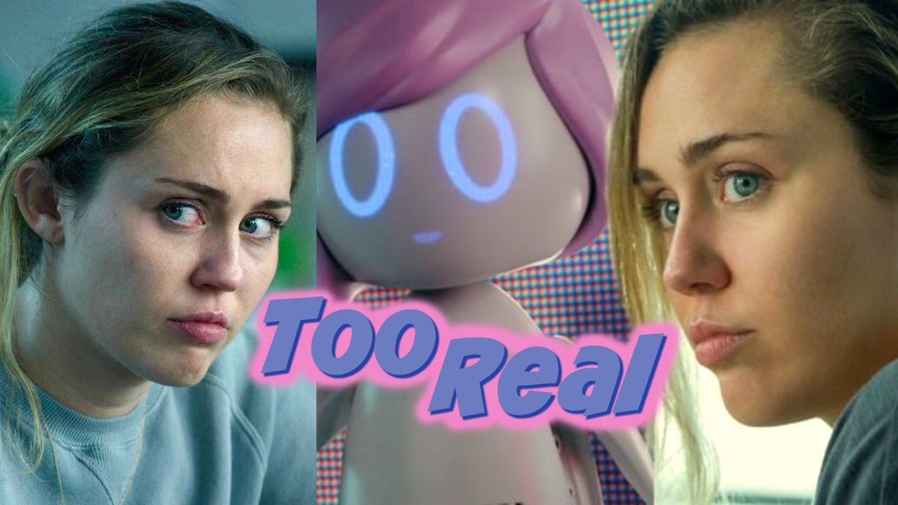 Too Real in Black Mirror Season 5 Ep 3 with Miley Cyrus   BuzzChomp