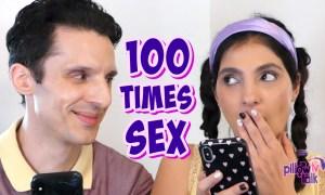 100 times sex