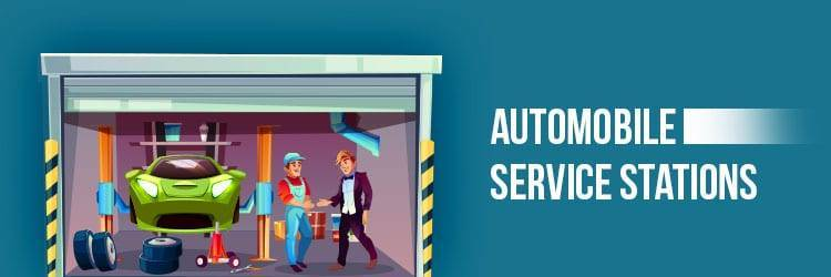 Automobile Service Stations