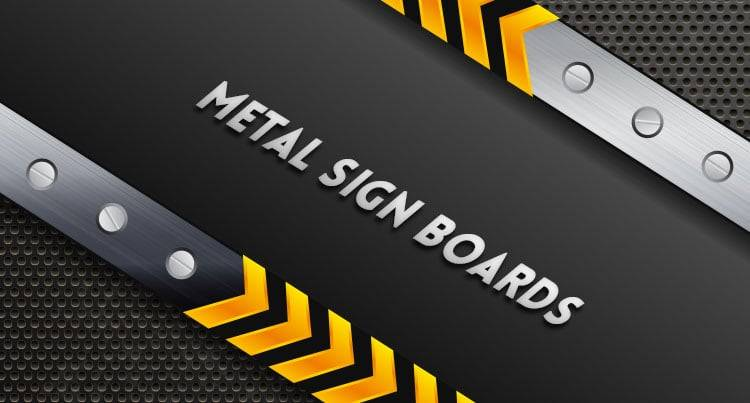 Metal Sign Boards
