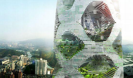tour durable 2 Un projet de tour durable pour la ville de Shenzhen ...