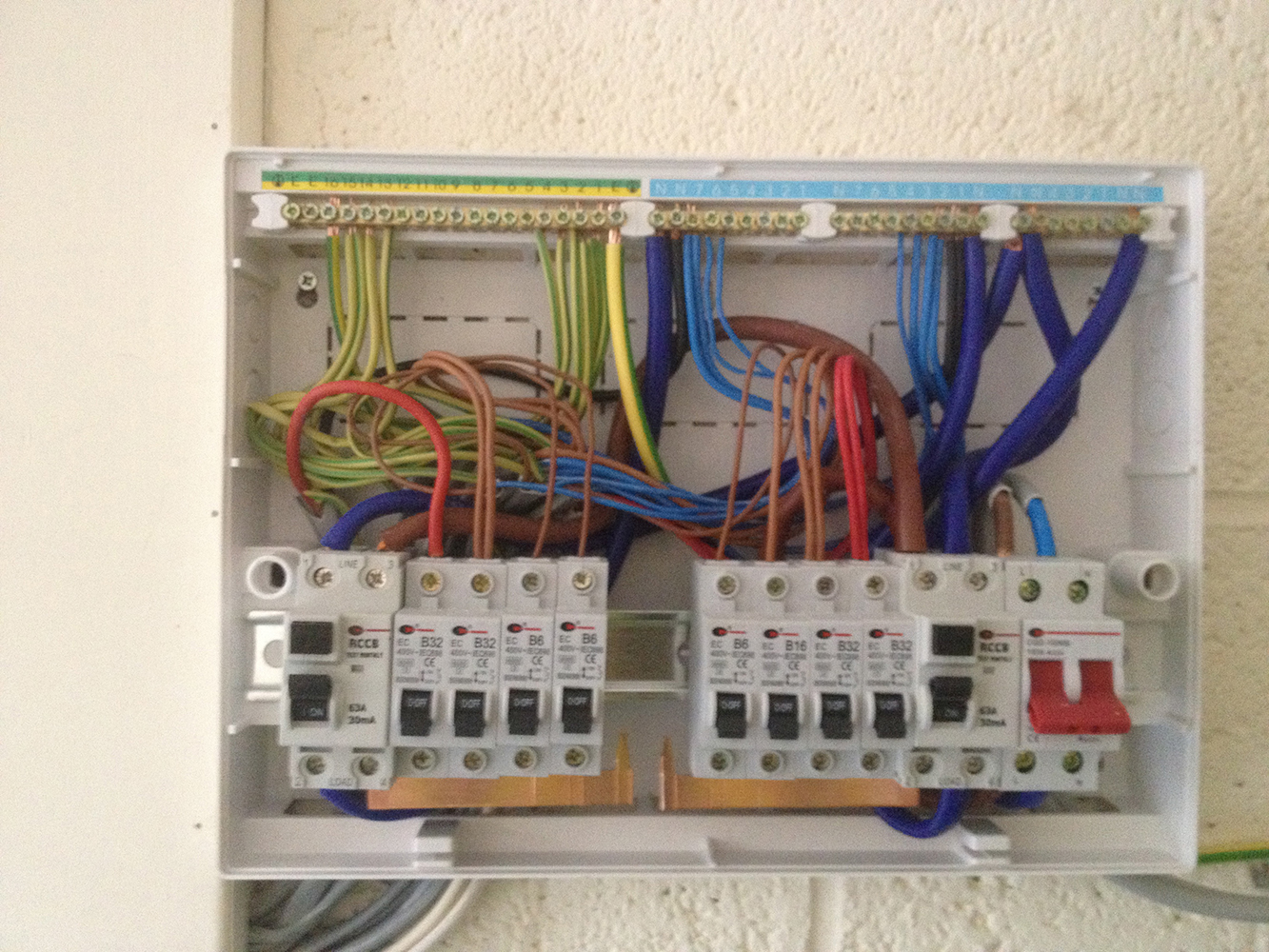 mk dual rcd consumer unit wiring diagram for trailer lights and electric brakes schema gallery buzz electrical services electricity test