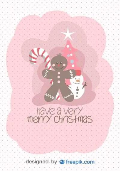 可愛い,無料,クリスマス,カード