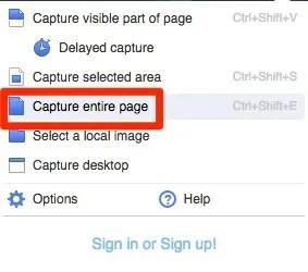 Chrome,拡張機能,awesome screenshot