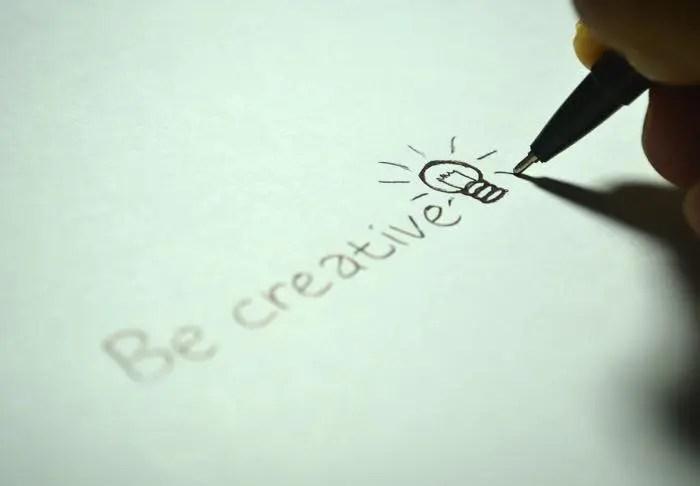 クリエイティブになる,ひらめき,アイディア,創造する